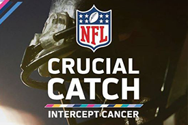 NFL Crucial Catch. Intercept Cancer